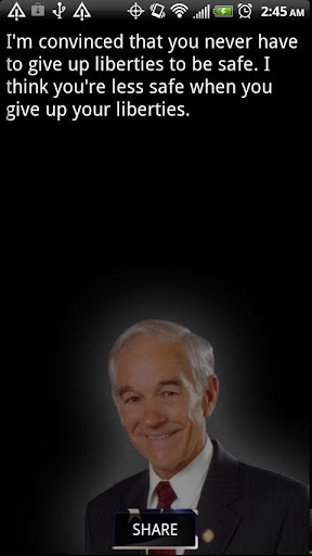 Ron Paul Quoter