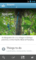 Screenshot of Panama Travel Guide by Triposo