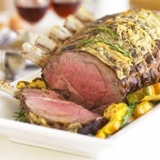 Standing Rib Roast with Bordelaise Sauce