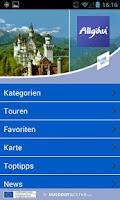 Screenshot of Allgäu