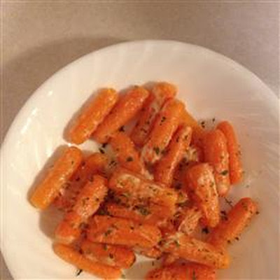 Parmesan Crusted Baby Carrots
