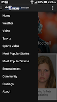 Screenshot of Channel 8 KLKN-TV