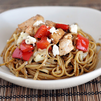 Balsamic Chicken Noodle Bowl