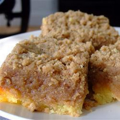 Butter Crumble Sponge Cake