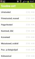 Screenshot of Soodne ost!