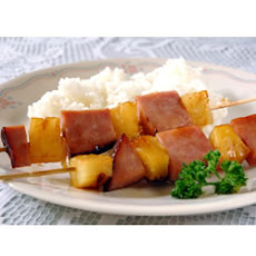 Ham and Pineapple Kabobs