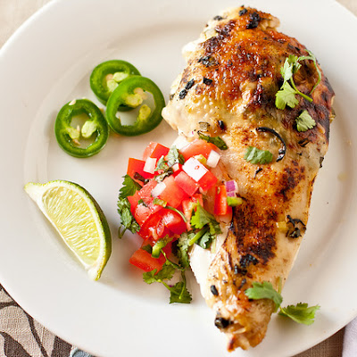 Jalapeno-Lime Roast Chicken