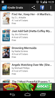 Screenshot of Gratis ebooks for Kindle