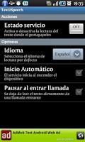 Screenshot of Text2Speech read for you