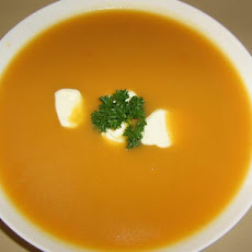 Sweet Potato & Pear Soup
