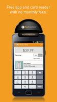 Screenshot of PayAnywhere Credit Card Reader