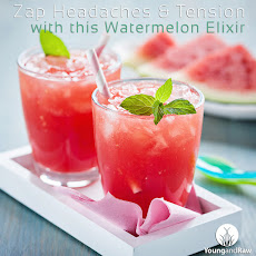 Zap Headaches and Tension with this Watermelon Elixir