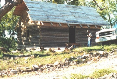Building the cabin (4)