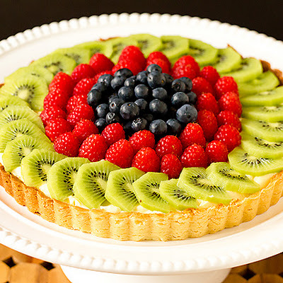 Fresh Fruit Tart with Pastry Cream