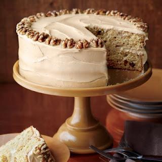 Maple Walnut Cake With Maple Walnut Frosting Recipes