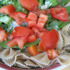 Milk Free Salmon Vegetable Fettuccine