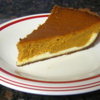 Layered Pumpkin Cheese Pie