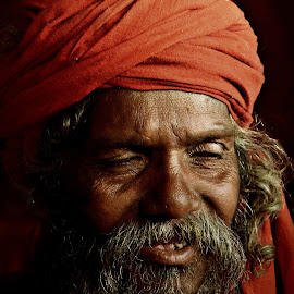 The innocent smile by Arnab Bhattacharyya - People Portraits of Men