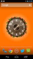 Screenshot of Analog Clock Wallpaper/Widget
