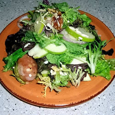 Crisp Apple and Sausage Salad
