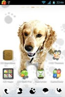 Screenshot of GO Launcher EX Cute Dog Theme