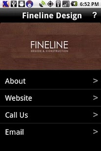 Fineline Design - screenshot
