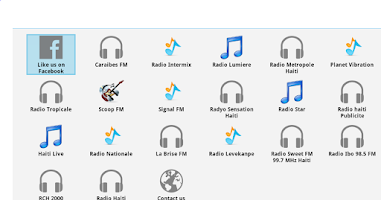 Screenshot of Haiti Radios