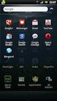 Screenshot of XperiaArc Go Launcher Ex Theme