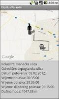 Screenshot of City Bus Varazdin Demo