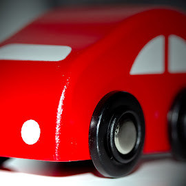 Little Red Car by Joel Bernardo - Artistic Objects Toys ( car, macro, red, toy, little, small )