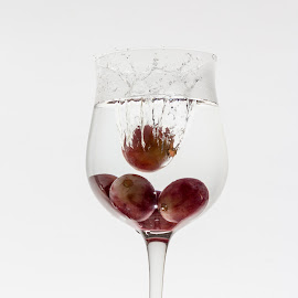 Organic by Sebastian Tontsch - Food & Drink Alcohol & Drinks ( wine, grapes, comercial, wineglas, wine grapes )