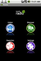 Screenshot of mundu Radio