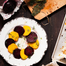 Honey Dill Roasted Beets