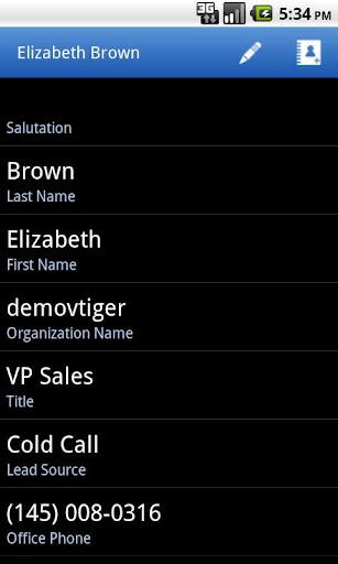 玩免費生產應用APP|下載Vtiger CRM Mobile app不用錢|硬是要APP