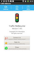 Screenshot of Traffic Cam Melbourne Free
