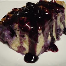 Blueberry French Toast Cobbler
