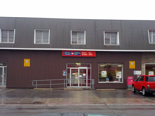Bureau de poste masson portal in hochelaga maisonneuve quebec