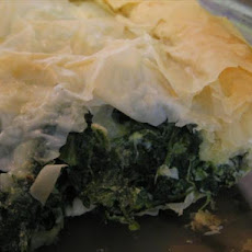 Quick & Easy Spinach and Feta Phyllo Pie