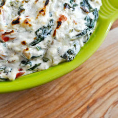 Kicked-Up Spinach Dip