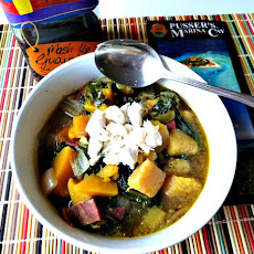 Caribbean Callaloo Soup Inspired by howstuffworks.com