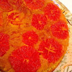 Winter Citrus And Rose Water Polenta Cake