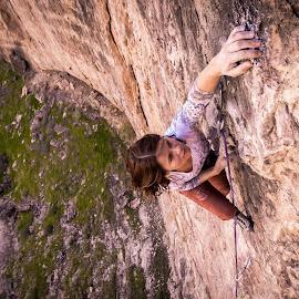 High Class Plyg by Ryan Skeers - Sports & Fitness Climbing ( utah climbing, climbing, girls, f.a., plyg )