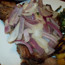 Belize Style Steak and Onions