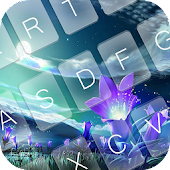 App Blooming Night Keyboard Theme APK for Windows Phone