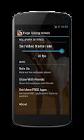Screenshot of Dogs licking screen Wallpaper