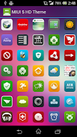 Screenshot of MIUI 5 HD Theme