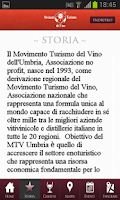 Screenshot of Movimento Turismo Vino Umbria