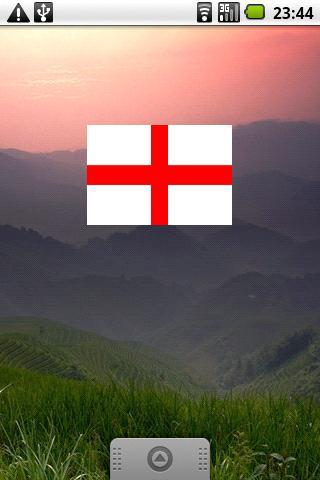 England Flag Widget