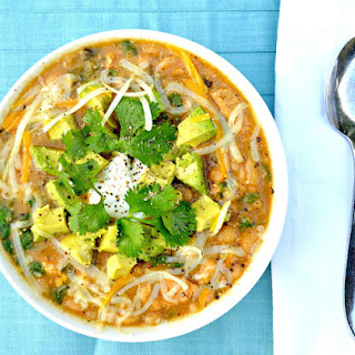 Chicken Chili Verde With Avocado
