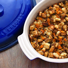 Sausage and Butternut Squash Stuffing